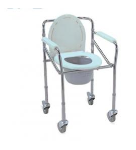 Chaise De Toilette Avec Roues
