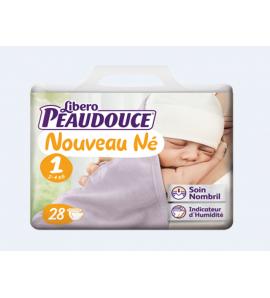 Couche Peaudouce Libero Nouveau Né T 1