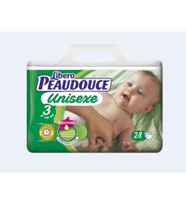 Couche Peaudouce Unisexe T 3