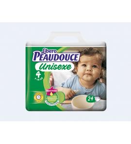 Couche Peaudouce Unisexe T 4