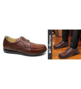 Chaussure orthopédique M7 marron