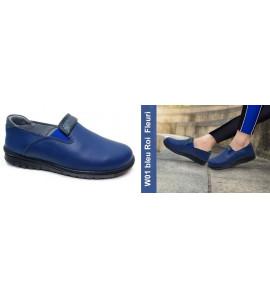Chaussure orthopédique W01 Bleu