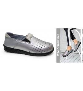 chaussure orthopédique W01 Argenté