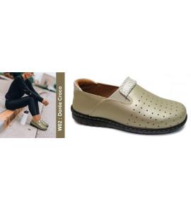 Chaussure orthopédique W02 dorré