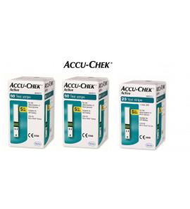 125 Bandelettes de glycémie Accuchek Active ♥️